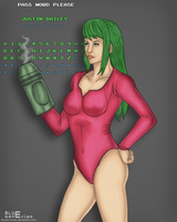 Samus Aran 11032011 by BLUEamnesiac