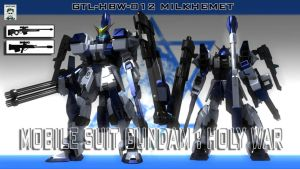 Gundam Holy War -Milkhemet by ssejllenrad2