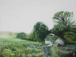 The Cottage by NorthumbrianArtist