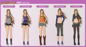 Outfits Map: Mara (part 2) by Enjoumou