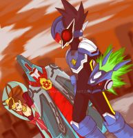 RnR - Rockman vs Empty by Na-Nami