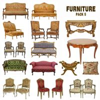 Furniture Pack 5 by amir2012