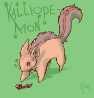 Kalliopemon by hunterspire