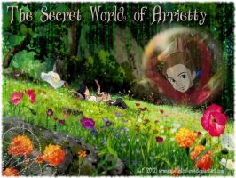 The Secret World of Arrietty Wallpaper by urmyedwardcullen