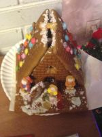My own gingerbread house by Simpsonsfanatic33