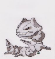 #208 - Steelix by GTS257-CT