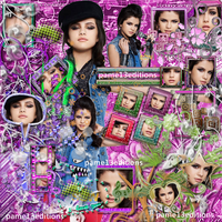 blend-Selena Gomez by pame13editions
