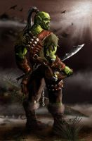 Tharoc the orc by bradlyvancamp
