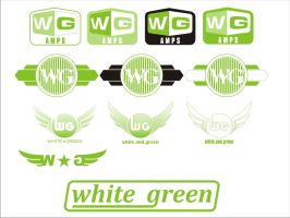 Wg logo - white and green by Cobawsky