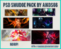 Psd Smudge Pack by Aikos66