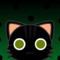 Cat icon: Blackie or Negrita by ModernLisart