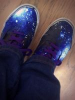 I Painted These Shoes WOOO by Techta