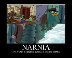 Narnia poster by AgentBengalTiger
