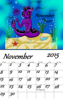 Sea Creature November by auroradragon93