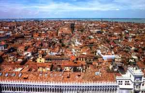 The Rooftops of Venice by Petrol-Head-Images