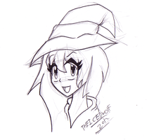 Anime Witch by TheIcedWolf