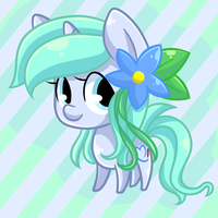 Commission: Chibi Ocean Blossom by Looji