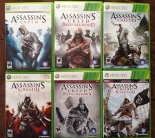 Assassin's Creed collection by julianDB92