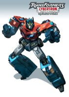 Cybertron Optimus Prime by EspenG