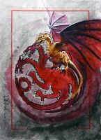House Targaryen by DavidDeb