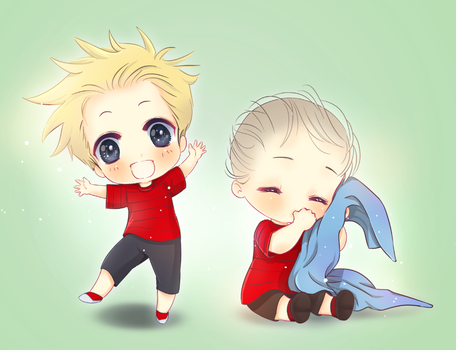 Calvin and Linus by Netsubou