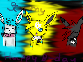 .:B-day for STARMY:. by AkitoBlackNightmare