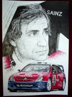 Carlos Sainz Tribute by machoart