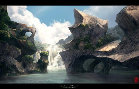 Uncharted Waters-Mattepainting by frankhong
