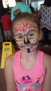 cinco de mayo face paint by funfacesballoon