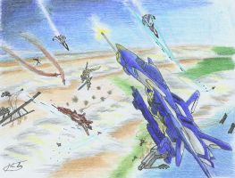 Battle in the Sky by hhello