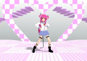 MMD Newcomer Yui -Angel beats Video. +DL by cristle1235