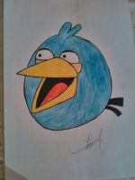 Angry Birds (blue) by SobohRami