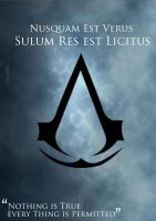 Nothing True.. Assassins Creed by StumpyMcN0Legs