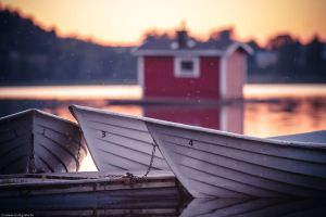 2012, Sweden - sunset by Modi1985