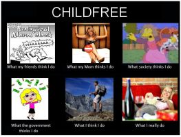 Childfree Meme by DelphineNQ
