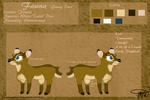 Fawna 2015 Reference Sheet by Fawnadeer
