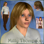 Trigun: Milly Thompson (3D) by EdenEvergreen