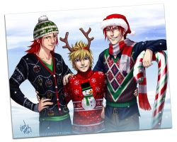 ARR - Christmas Sweaters by Nijuuni