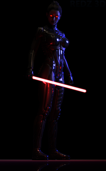 Chiss Sith by redz-3d