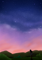 Starry Night by Artistic-Ana