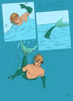 Be a Merman Comic Page 9 by MeerelfThaylen