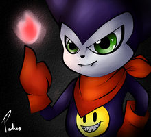 Impmon [Gift 2] by ClankLover2107