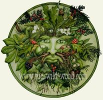 The Green Man by WildWoodArtsCo