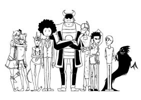 The Grand Circus Semi-Finalists (WIP) by TheLivingImpaired