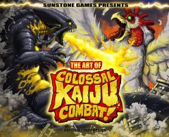 Colossal Kaiju Combat Art Book for Kickstarter by KaijuSamurai