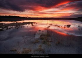 Fire in the Sky-Lochdon-Mull by DL-Photography