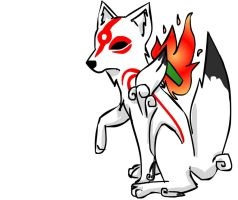Quick Amaterasu Drawing by shadowjess
