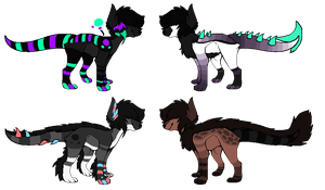 Emergency Dragon Dog Adopts [ONE LEFT, Open] by Mulch-Adopts