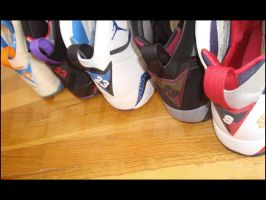 Air Jordan 7 Lineup pt 4 by BBoyKai91