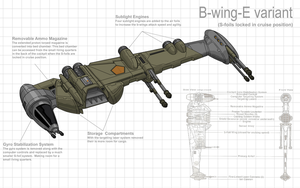B-wing Redesign 2 by Stephen-Daymond